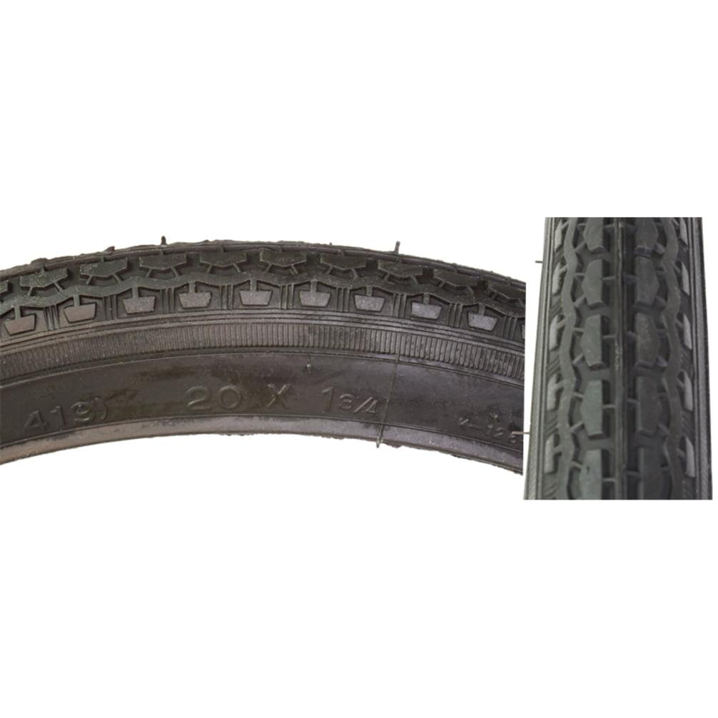 Sunlite Tire 20X1-3/4 S7 Black/Black Street