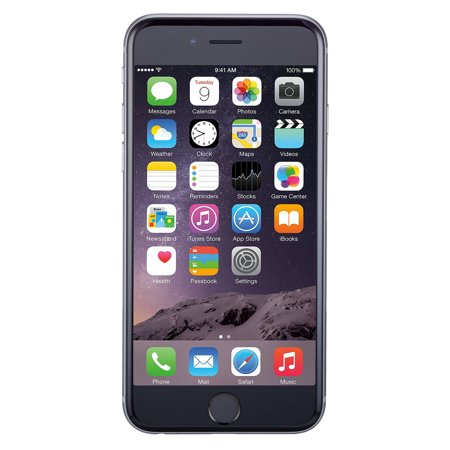 Refurbished Apple iPhone 6 64GB, Space Gray - Unlocked GSM (Cell Phone Galaxy 4s For At&t)