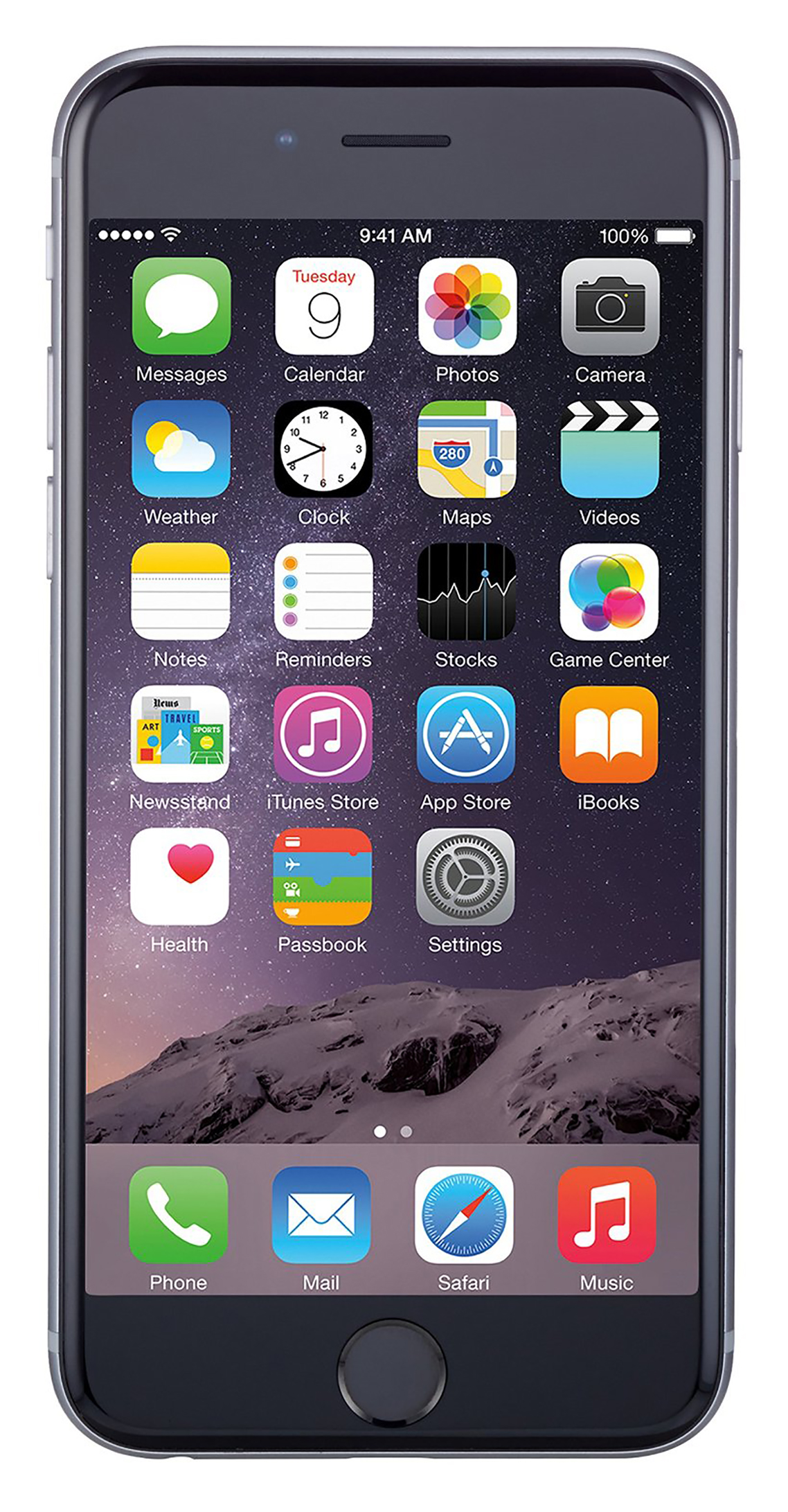Refurb Apple iPhone 6 64GB Unlocked GSM Phone (Space Gray)