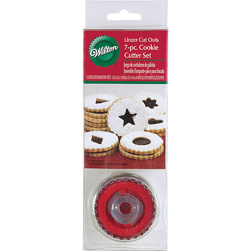 Wilton Linzer Cookie Cutter Set, Round 7 ct. 2308-3800