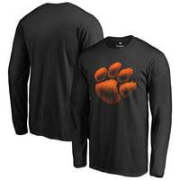 Clemson Tigers Midnight Mascot Long Sleeve T-Shirt - Black