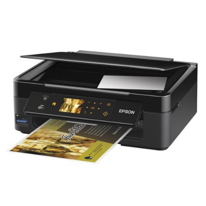 Epson Stylus NX430 Wireless All-in-One Color Inkjet Printer, Copier, Scanner (C11CB22201) by Epson