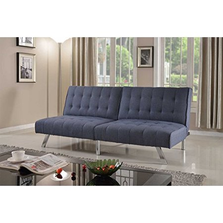 Home Life Linen With Split Back Adjule Klik Klak Sofa Futon Bed Sleeper Convertible Quality