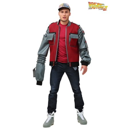 Plus Size Men's Authentic Marty McFly Jacket from Back to the Future - Marty Mcfly Jacket