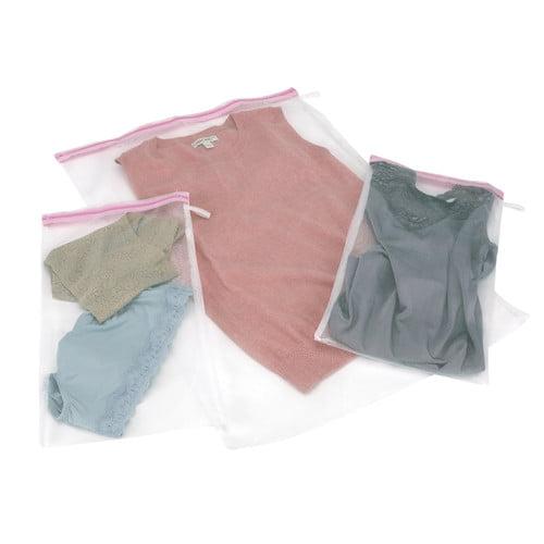 Household Essentials Mesh Wash Bags, 3pk