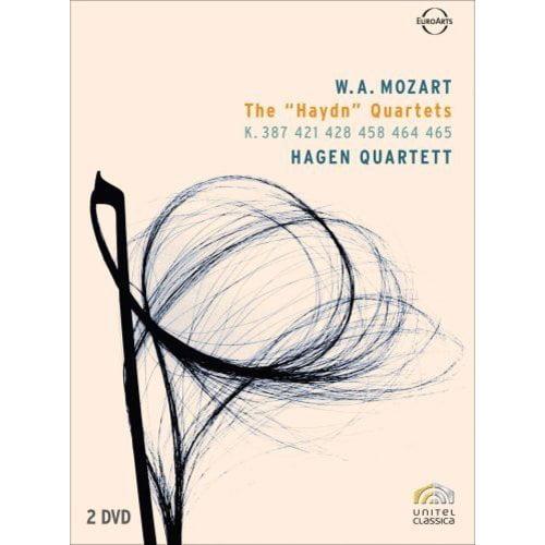 "Anderson Hagen Quartett: W.A. Mozart - The ""Haydn"" Quarte..."