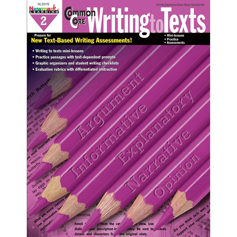 Image of COMMON CORE WRITING TO TEXT BOOK