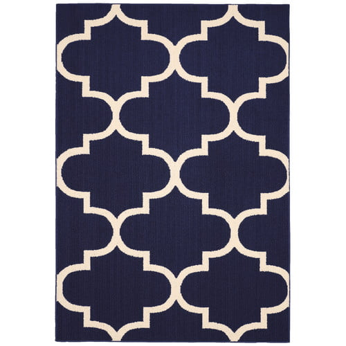 Click here to buy Simply Urban Collection Large Quatrefoil Area Rug by Garland Rug.