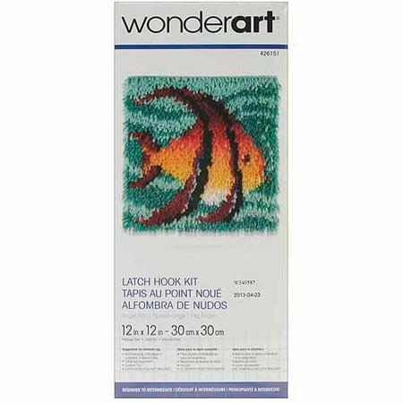 Caron Wonderart Latch-Hook Kit, 12