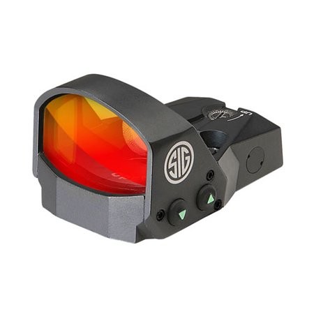 Sig Sauer SOR11005 Romeo1 Mini Reflex Sight [1x30mm, 3 Moa Red Dot Reticle, 1.0 Moa Adjustment, Multiple Handgun, Graphite]