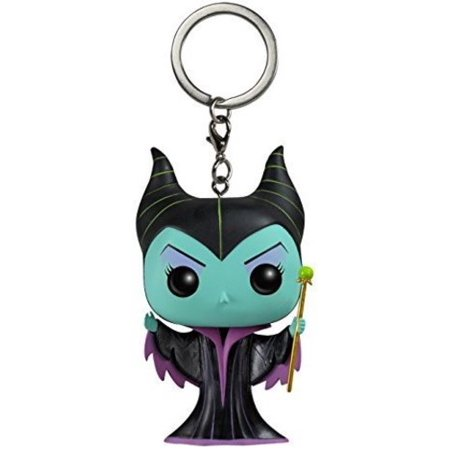 FUNKO POCKET POP! KEYCHAIN: DISNEY - MALEFICENT (CLASSIC)