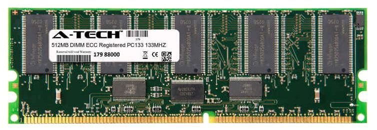 512MB Module PC133 133MHz ECC Registered SD DIMM Server 168-pin Memory Ram