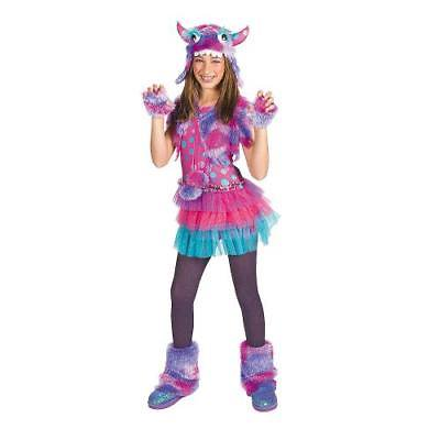 Polka Dot Monster Large Girls Halloween Costume By Fun Express - Express Halloween