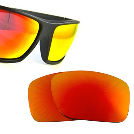 6c881baca8 SEEK Compatible Polarized Red Mirror Replacement Lenses for SPY COOPER XL -  Walmart.com