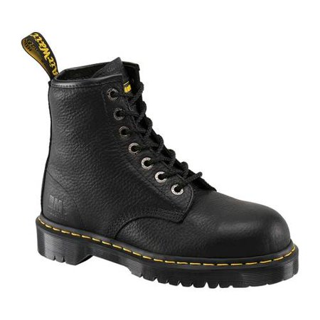 Martens Saxon 6 Eye - Dr. Martens Work Icon 7B10 Steel Toe EH Boot