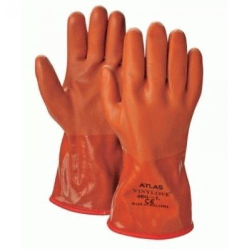 Showa 460m 08 Rt Insulated Chemical Resistant Gloves Sz 8