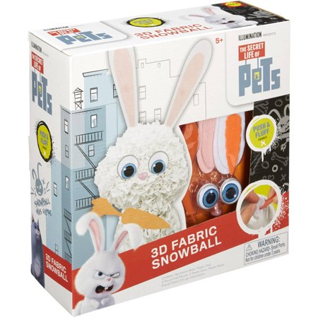 The Secret Life of Pets 3D Fabric Snowball