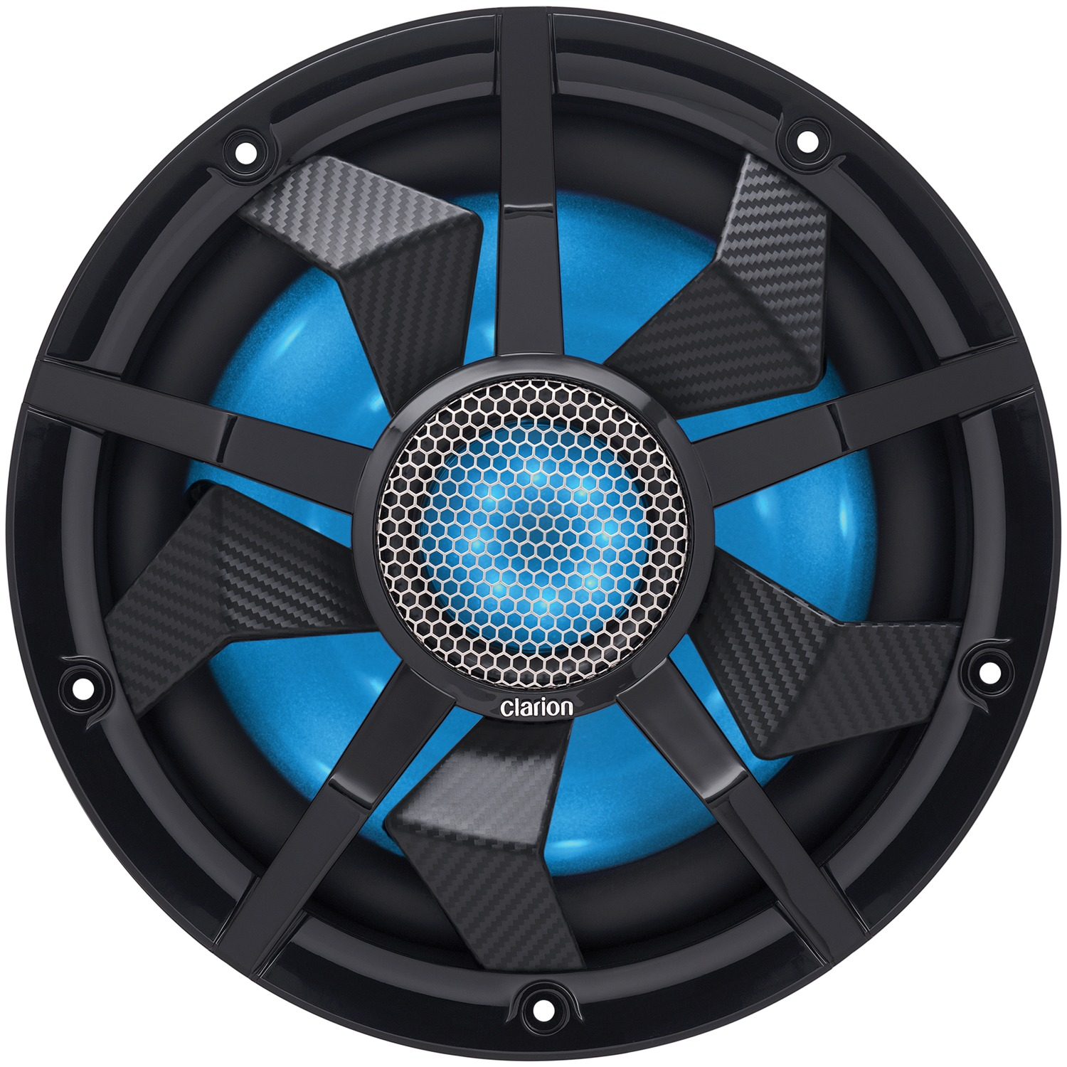 "Clarion CM2513WL CM Series 10"" Marine & Outdoor Vehicle Subwoofer"