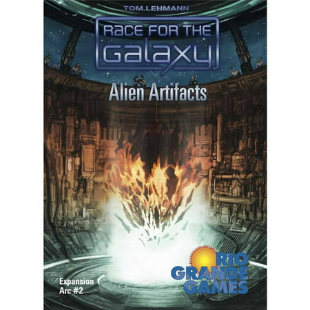 Rio Grande Games Race for the Galaxy Alien Artifacts Board Game