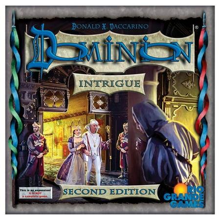 Dominion: Intrigue 2E 2nd Edition Board Game Rio Grande Games RIO532 (Intrigue Game)