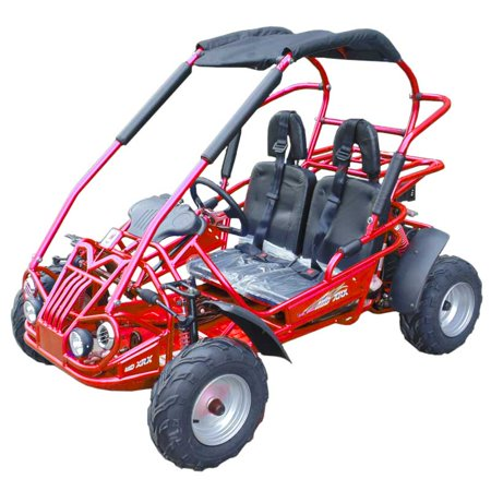 - Red TrailMaster Mid XRX/R, 4-Stroke, Single Cylinder, Air Cooled GoKart