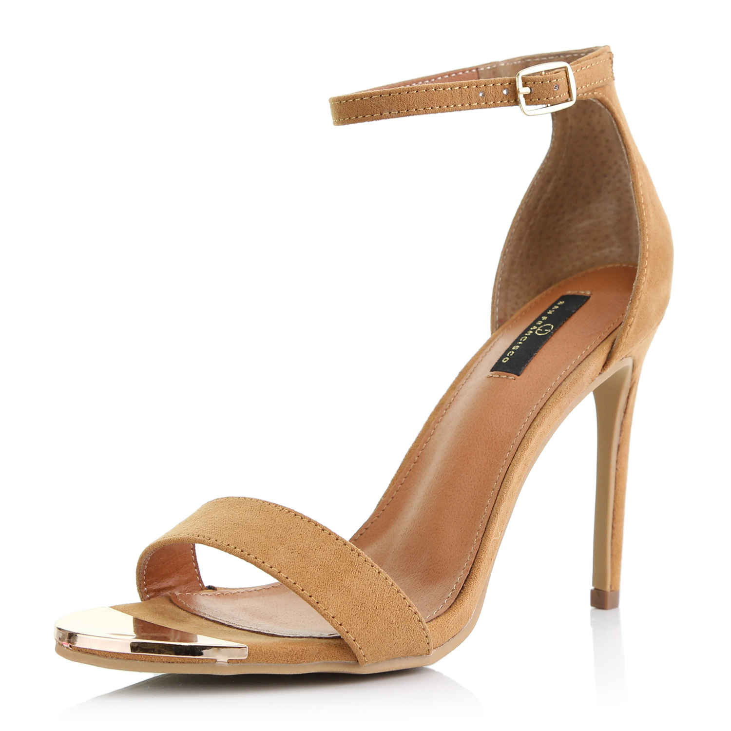 DailyShoes Ankle Strap Stiletto Heels