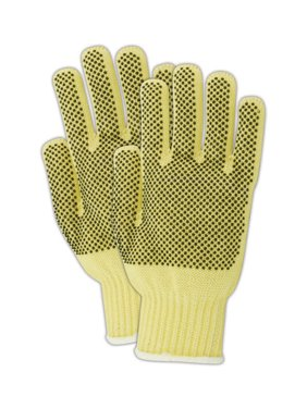 Magid CutMaster Medium-Weight Womens Kevlar Gloves, 12 Pairs