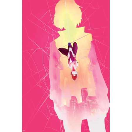 Spider-Gwen Annual No. 1 Cover Art Featuring: Gwen Stacy, Spider-Gwen Print Wall Art By Robbi Rodriguez (Gwen Stacy Oscorp)