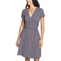 Eddie Bauer Travex Women's Aster SS Wrap Dress