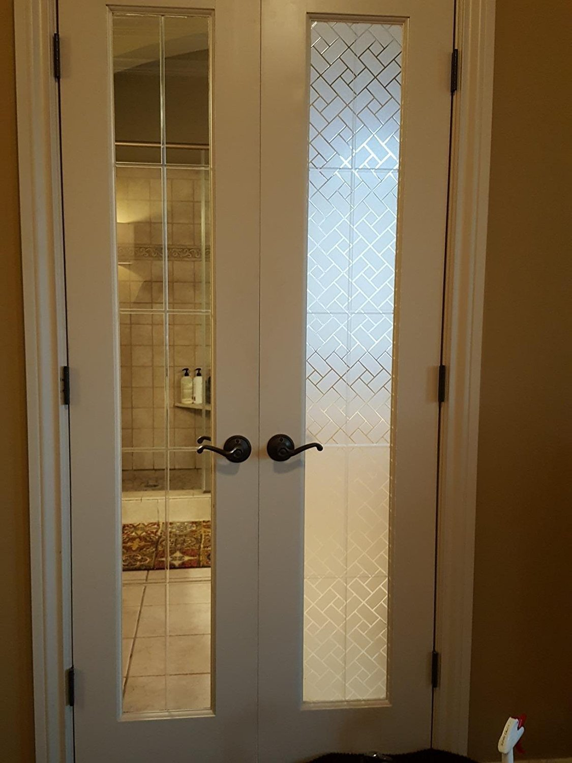 Peralng PVC 18*79\  door privacy window film privacy coverin\u2026  sc 1 st  Walmart.com & Peralng PVC 18*79\