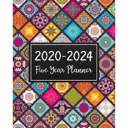2020-2024 Five Year Planner : 5 Year Monthly Planner Schedule Organizer To Do List Academic Schedule Agenda Logbook Or Student Teacher Organizer Journal Notebook Business Appointment W/ Holidays Mandala (Killeen Us)