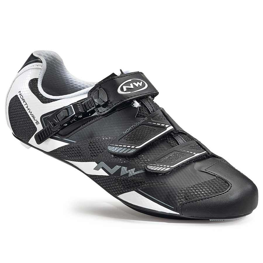 Northwave, Sonic 2 SRS, Road shoes, Black/White, 46