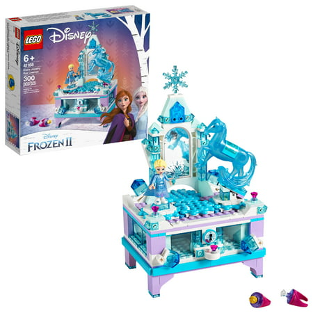 LEGO Disney Princess Frozen 2 Elsa's Jewelry Box Creation Disney Jewelry Box Building Kit 41168