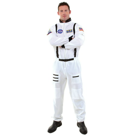 Astronaut Men's Adult Halloween Costume, One Size, (Up to 48)