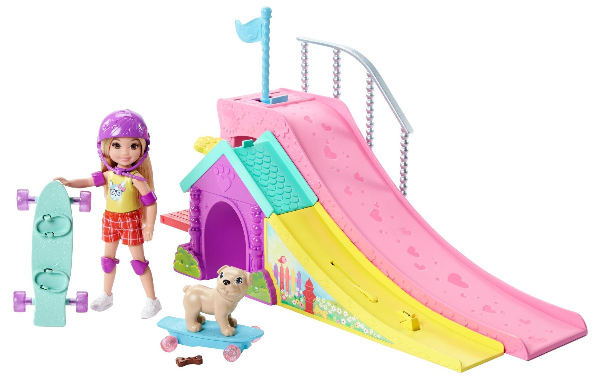 Barbie Club Chelsea Skatepark by Mattel
