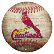 St. Louis Cardinals 12'' x 12'' Baseball Sign