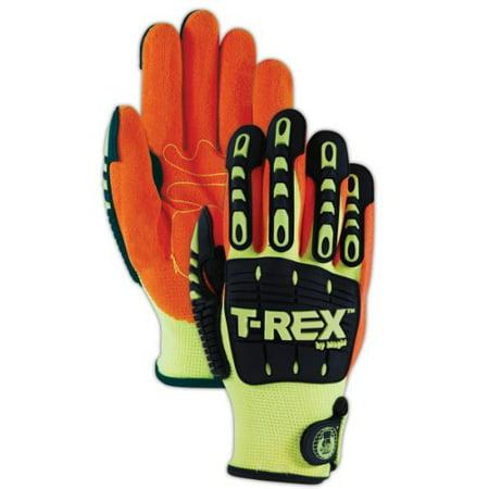 Magid TRX500T ProGrade Plus T-REX Men's Impact Glove, XX-Large - T Rex Gloves
