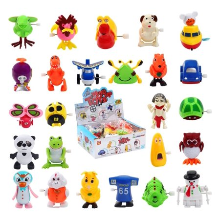 Wind up Toys Assorted Animal Toy  for Children's Party  favors for Kids  25 pcs F-01