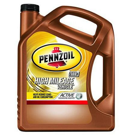Pennzoil 550038340 5w30 High Mileage Vehicle Motor Oil 5