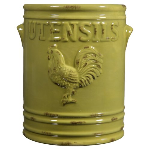 August Grove Rooster Utensil Holder