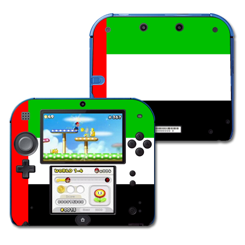 Mightyskins Protective Vinyl Skin Decal Cover for Nintendo 2DS wrap sticker skins