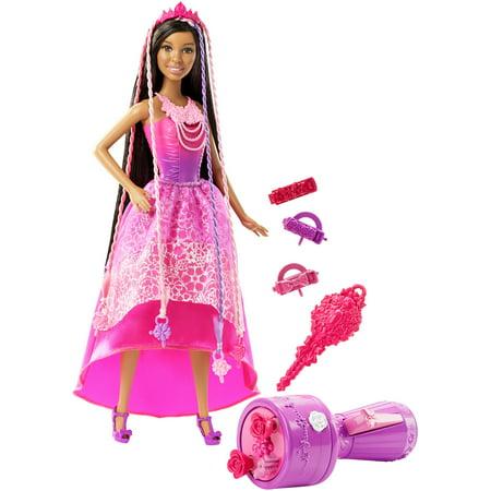 Barbie Endless Hair Kingdom Snap N Style Princess Doll  Nikki