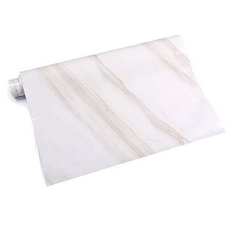 AkoaDa Marble Self Adhesive Wallpaper Furniture Cupboard Stove Table Contact Paper Waterproof Wall (Best Android Tablet Wallpaper)