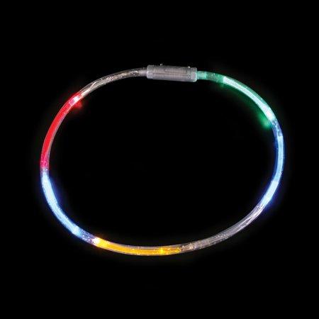 Lumistick Flashing LED Six Color Light-Up Necklace - Led Flashing Necklace