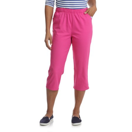 Women's Stretch Pull On Capri