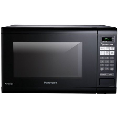 Panasonic 1 2 Cu Ft 1200w Inverter Microwave Oven Black