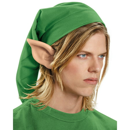 Link The Legend of Zelda Elf Hylian Adult Ears Adult Costume Accessory (Elf Ear)