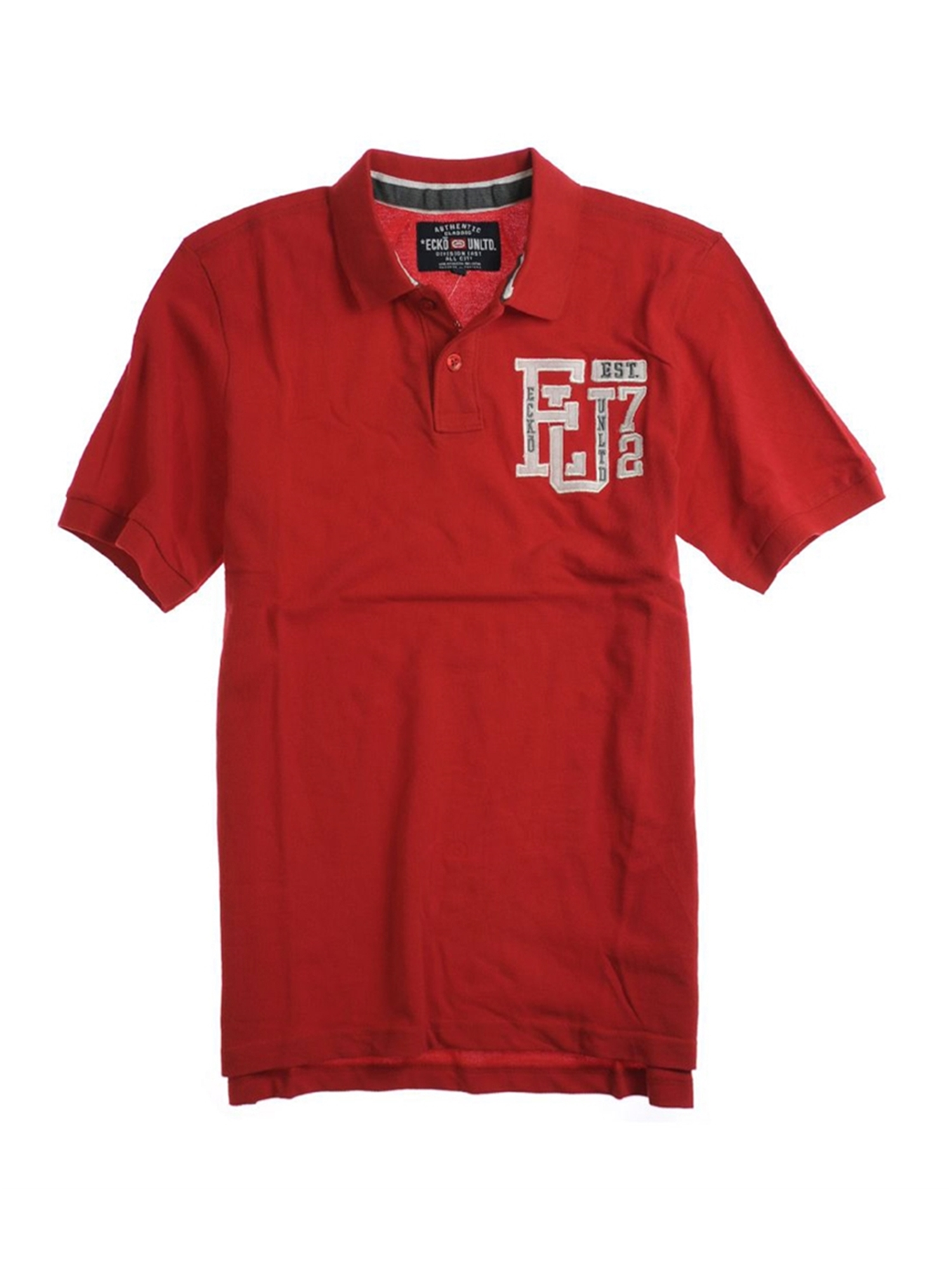 Ecko Unltd. Mens Left Chest Eu 72 Rugby Polo Shirt   Walmart.com