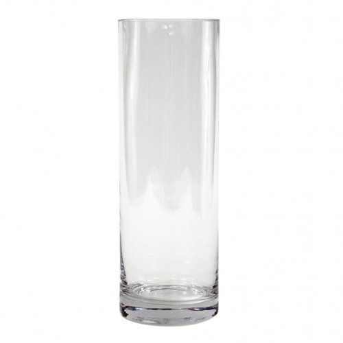 Koyal Wholesale 12 Pack Cylinder Glass Vases 4 By 12 Inch