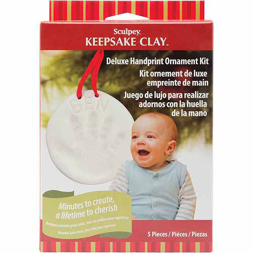 Sculpey Keepsake Handprint Ornament Kit